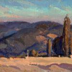 Eric Bowman, Foothill Colour, oil, 8 x 10.