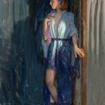 Eric Bowman, Unassuming, oil, 30 x 24.