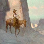 Eric Bowman, Whitewall Canyon, oil, 12 x 12.