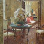 Hope Reis, La Solana View to Sunroom, oil, 24 x 20.