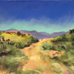 Carol Arnold, Big Bend Country, pastel, 9 x 12.