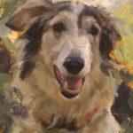 Kathleen Coy, Lara, oil, 5 x 7.