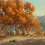Paul Kratter, Autumn's Last Breath, oil, 16 x 20.