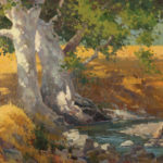 Paul Kratter, Creekside Autumn – Curry Canyon, oil, 16 x 20.