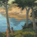 Paul Kratter, Golden Cliffs, oil, 20 x 24.