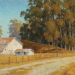 Paul Kratter, Summer Pallet, oil, 16 x 20.