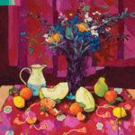 Angus, The Mark of Something (Color Range Series), acrylic, 36 x 36.