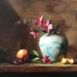 Kelli Folsom, Breath of Springtime, oil, 12 x 16.