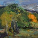 Merrimon Kennedy, Change of Season, oil, 11 x 14.