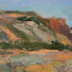 Merrimon Kennedy, Morning at Diablo Canyon, oil, 12 x 16.
