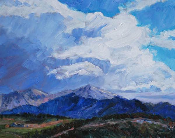 Show Preview Estes Valley Plein Air Southwest Art Magazine