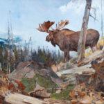 Carl Rungius, Alaskan Wilderness, oil, 40 x 50. Estimate: $400,000-$600,000.
