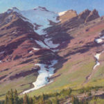 Clyde Aspevig, Mount Henkel, Glacier Park Mountains, 2011, oil, 36 x 40, collection of the artist.