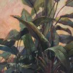 Hilarie Lambert, Lush, oil, 60 x 36.