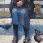 Hilarie Lambert, Patience, oil, 40 x 30.