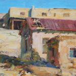 Walt Gonske, Laguna Adobes, oil, 15 x 20.