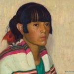 E. Martin Hennings, Taos Maiden, oil, 12 x 14. Estimate: $80,000-$120,000.