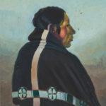 E.A. Burbank, Red Woman, Southern Cheyenne, 1899, oil, 12 x 10. Estimate: $5,000-$8,000.