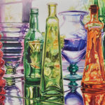 Cynthia Peterson, Afternoon Color, watercolor, 22 x 30.