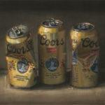Dianne Massey Dunbar, Empties, oil, 11 x 14.