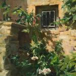 Kyle Ma, Venasque Window, oil, 18 x 14.
