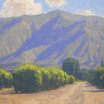 Dan Schultz, Ojai Morning Light, oil, 18 x 24.