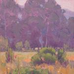 Dan Schultz, Quiet Meadow, oil, 10 x 10.