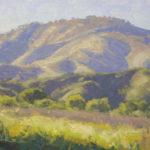 Dan Schultz, Spring Shadows, oil, 9 x 12.