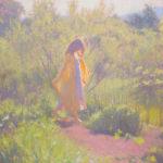 Dan Schultz, Wandering, oil, 30 x 30.