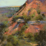 Bethany Fields, Palo Duro Dreams, pastel, 16 x 12.