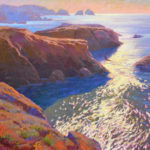 Antonina Zenin, Point Lobos, oil, 20 x 24.
