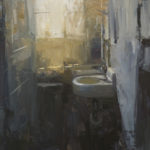 Patrick Lee, WC, oil, 24 x 20.