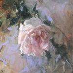 Jenny Buckner, Rose II, oil, 10 x 8.