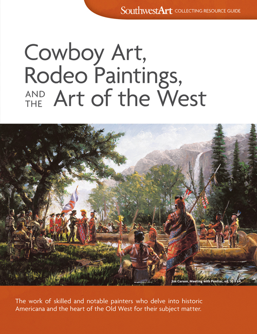 All About Cowboy Paintings & Western Art - Southwest Art
